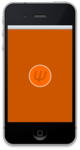Gamut app burnt orange screen